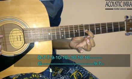 Tinka Tinka Dil Mera Guitar Lesson/Tabs/Lead | Tubelight | By Acoustic Imran