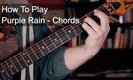 Purple Rain Chords – Prince Guitar Tutorial