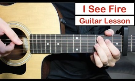 I See Fire – Ed Sheeran | Guitar Lesson (Tutorial) How to play the Fingerstyle Intro