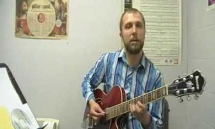 Jazz Guitar Lesson 4: The Diminished Scale (part 2)
