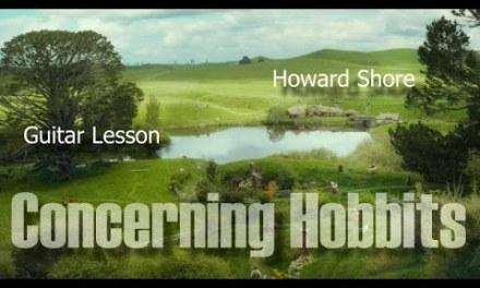 Concerning Hobbits – Guitar Lesson