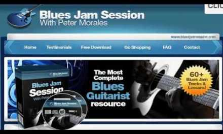 Learn To Play Blues Guitar With 60 Blues Backing Tracks, Video Lessons