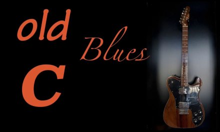 Old BLUES Guitar Backing Track in C