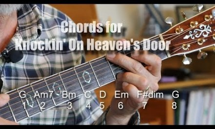 Knockin' On Heaven's Door – Chords – Guitar Lesson