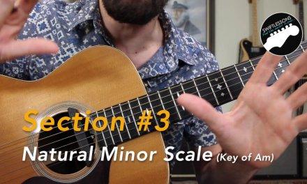 The Three Minor Scales – Melodic, Harmonic, & Natural Guitar Licks Lesson