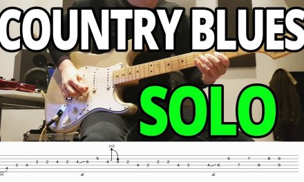 16-Bar Country-Blues Licks in A – Guitar Lesson