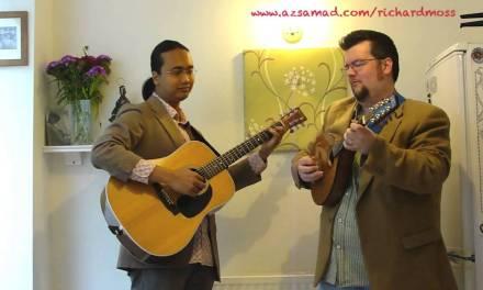 Penyair – Az Samad and Richard Moss (Acoustic Guitar & Mandolin Duet)