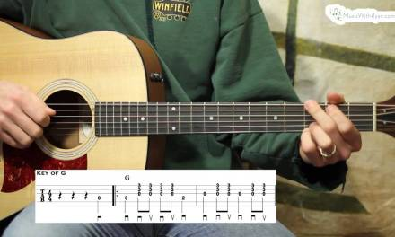 Worried Man Blues Carter Style and Intermediate – Guitar Lesson
