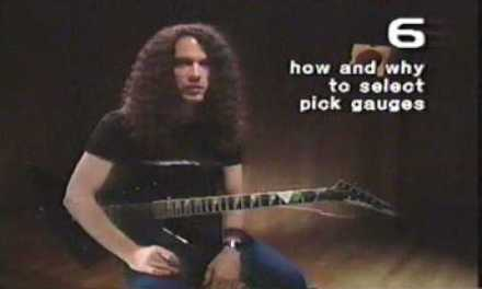 (Guitar Lesson) Marty Friedman Electric Guitar Day One