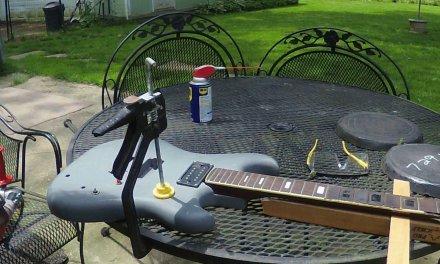 Westone Guitar Heavy Duty Fret Level (ft.)Ed Dana Guitar Repair