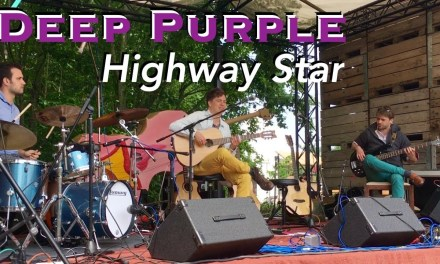 Highway Star [Deep Purple] Acoustic – Fingerstyle guitar by Thomas Zwijsen & Band