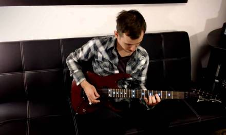 4 String Sweeps #2 – Guitar Lesson With Michael Alexander @ School Of Shred