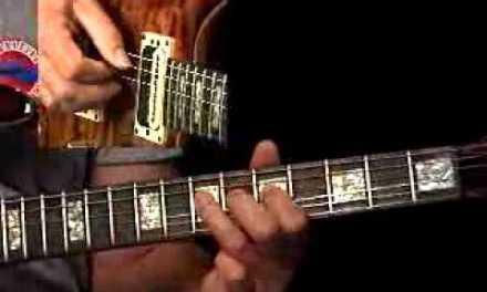 Blues Techniques – #5 Slurs – Guitar Lesson – Brad Carlton