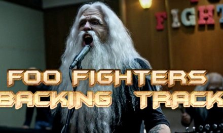 Foo Fighters – Run ( Guitar Backing Track )