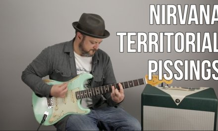 """How to Play """"Territorial Pissings"""" by Nirvana on Guitar – Guitar Lesson"""