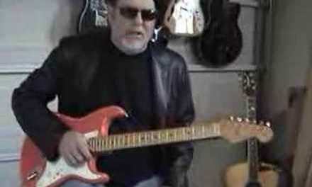 A Free Blues Guitar lesson from Robert Dean