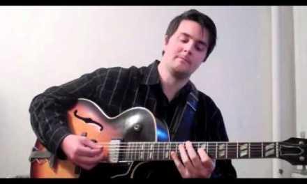 Charlie Parker Ornithology Jazz Guitar Lesson