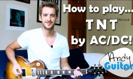 AC/DC TNT Guitar Tutorial – Minor Pentatonic Song #5