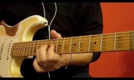 Jam Shuffle in C – Blues guitar lessons. Licks & Tricks.