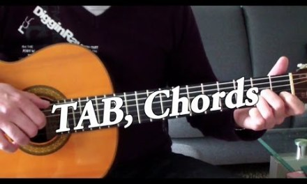 Tears in Heaven – Fingerstyle Guitar + TAB, Chords (Eric Clapton cover)