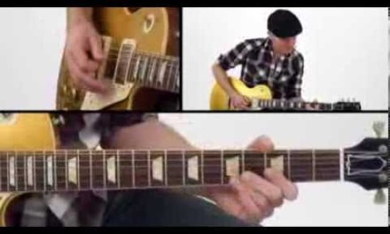30 Blues Grooves – #18 Seeing You Go – Guitar Lesson – Jeff McErlain