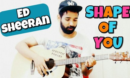 Shape of You Guitar Chords Lesson Heartbeat Style (in Hindi)