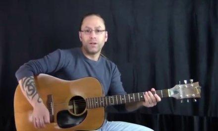 Steve Stine Guitar Lesson Simple but Effective Acoustic Blues Guitar Licks part 2