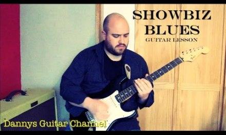 Showbiz Blues – Peter Green – Fleetwood Mac – Blues Slide Guitar Lesson