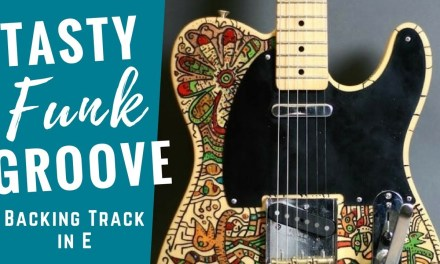 Super Tasty Funk Groove | Guitar Backing Track Jam in E