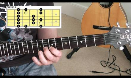 How To Play The 5 Diatonic Major Scale Positions On Guitar