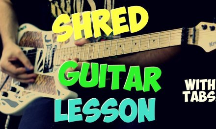 Beginner Shred Guitar Lesson (with Tabs!)