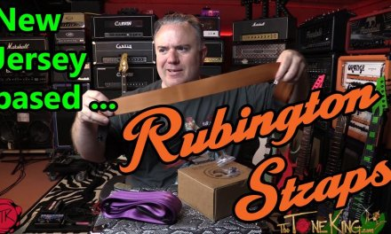 Guitar Strap BUILD Video – New Jersey based Rubington Leather Guitar Straps
