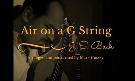 Air on a G String (Classical guitar)