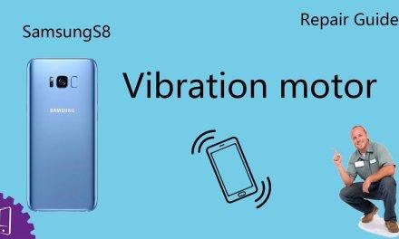 Samsung Galaxy S8 Plus Vibration motor Repair Guide