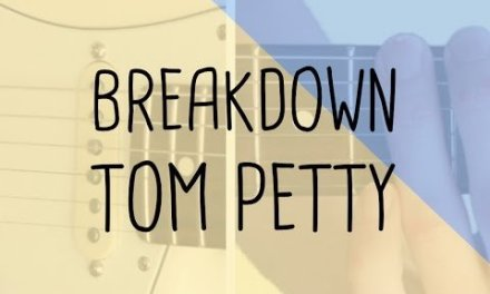 How to play the lick Breakdown Tom Petty   Guitar Lesson & Songsheet
