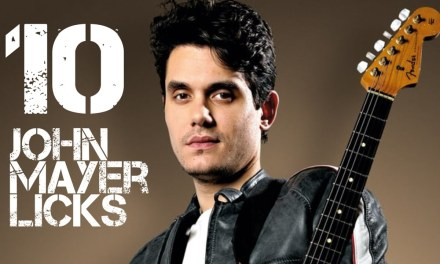 10 John Mayer Licks in G Major  – John Mayer Guitar Licks Lesson with Tabs