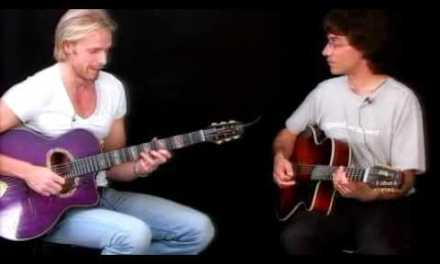 Jazz Guitar Lessons – Gypsy Duets – Andreas Oberg & Frank Vignola – Limehouse Blues Trading 4's