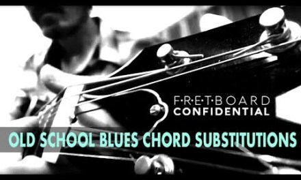 Old School Blues Chord Substitutions for Guitar