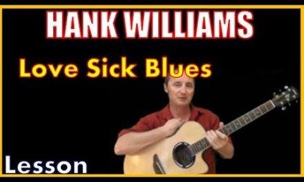 Love Sick Blues by Hank Williams Sr