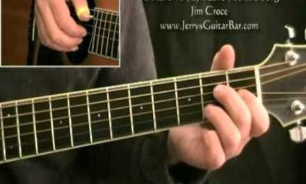 How To Play Jim Croce I'll Have To Say I Love You In a Song Introduction