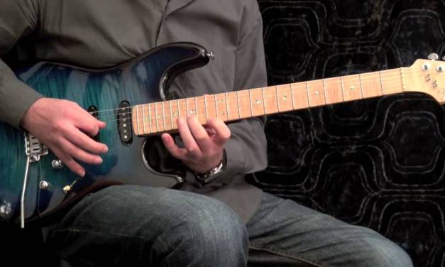 Basic Extended Jazz Rock Fusion Guitar Arpeggios #3