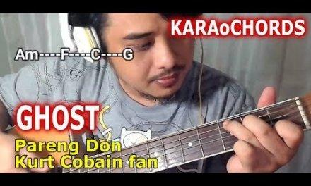 Ghost chords – Halsey – Karaoke style acoustic guitar tutorial