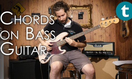 Chords on Bass Guitar | Tutorial