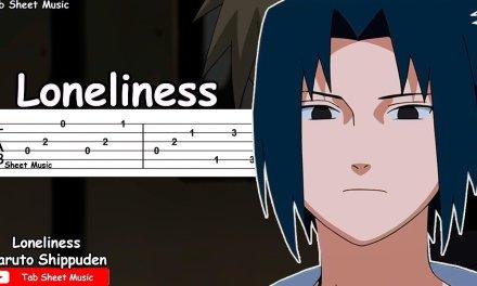 Naruto Shippuden OST – Loneliness (Kodoku) Guitar Tutorial