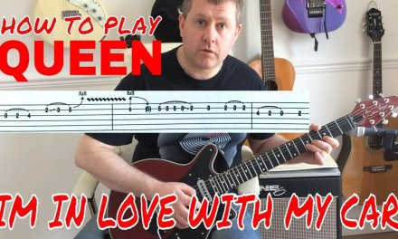 Queen – I'm In Love With My Car – Guitar Lesson (Guitar Tab)