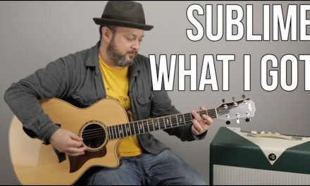 """How to Play """"What I Got"""" by Sublime on Guitar"""