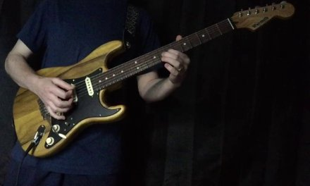 """You Had Me When You Smiled"" Strat-Talk Weekly Jam Country Guitar Improvisation"
