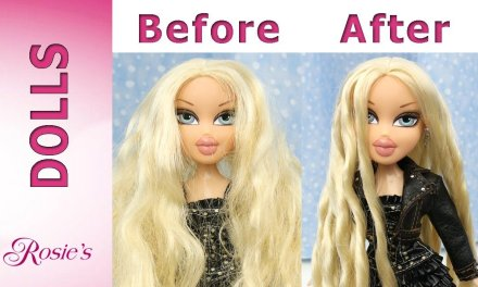 Bratz Rock Angelz Cloe Makeover – Hair Repair