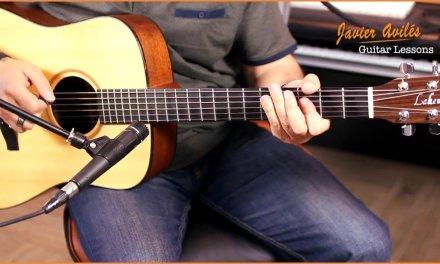 Larry Carlton Acoustic Style – Javier Aviles