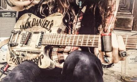 Jack Daniel's Whiskey Barrel Guitar | JUSTIN JOHNSON SOLO SLIDE GUITAR